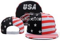 New style USA snapback flag print  Hot sell snapback  cap sports caps men street hat  hip-top hats
