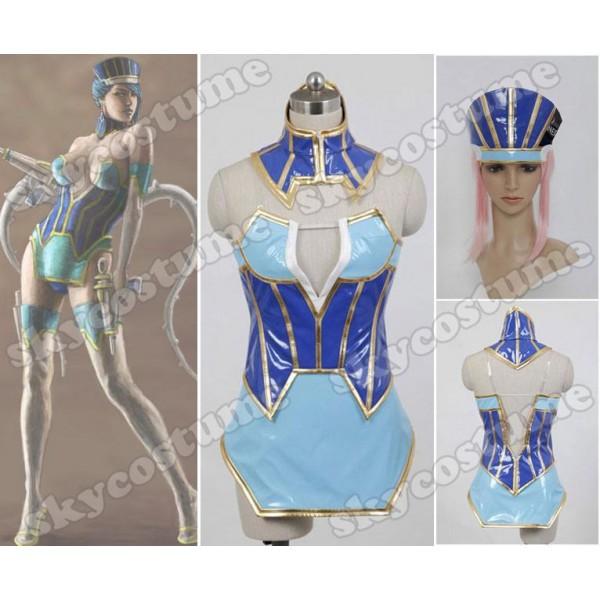 Tiger & Bunny Blue Rose Karina Lyle Cosplay Costume(China (Mainland))