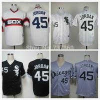 2014 cheap Chicago White Sox #45 Michael Jordan American baseball men's cheap good quality jersey size:M-3XL