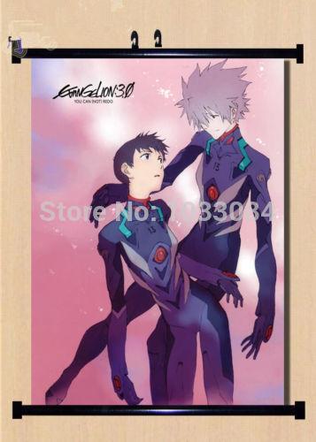 Neon Genesis Evangelio Eva Home Decor Anime Japanese Poster Wall Scroll C004(China (Mainland))