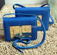 Snake Leather T-Ford Women shoulder bag in 25 cm