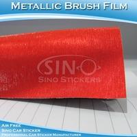 Newest!!! Sino Stylish Glitter Brushed Metallic Film for Car Body Decoration Vinyl 1.52 x 20m 5FT x 65 FT
