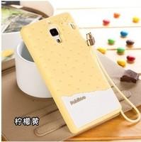 Original Soft Silicon Back Cover Case for Xiaomi Redmi Red Rice Hongmi Xiaomi Mi 3 M3 Koran Ice Cream Chocolate Style Phone Case