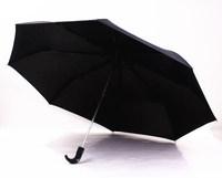 2014 free shipping men's 49-Inch black business automatic three folding umbrella travel windproof umbrella Rechar020
