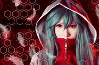 FREE SHIPPING Anime Kagerou Project Heat Haze Project Kido Tsubomi Cosplay Wig Costume Heat Resistant + CAP