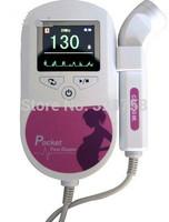 FDA/CE approved Pocket Prenatal Fetal Baby doppler fetal heart rate monitor ultrasound Doppler H1136