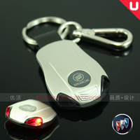 Free shipping Buick with lamp series of car key ring/buckle regal/excelle/mall/lacrosse A key ring gifts gifts Christmas