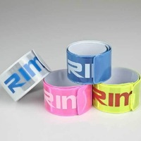 3 Pcs Colors light Reflective tapes Protect Run Cycling Night Safe Conspicuous Blue Pink Yellow silver for sale