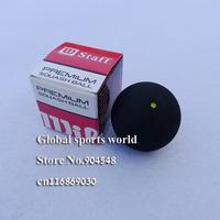 10 pcs Squash ball yellow dot Slow speed with retail box