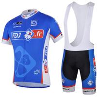 2014 bike Jersey Set Cycling Suit Jersey Bib Shorts Riding Clothing Bicycle Sportswear