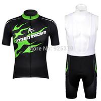 2013 Merida Short Sleeve Jersey and Cycling Bib Shorts Kit 2013 Cycling Clothing / Cycling Jersey / Cycling Shorts Free Shipping