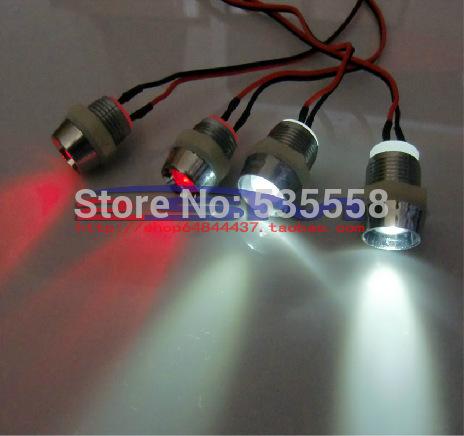 RC 1:10 Model Car Night headlamps headlights LED Drift car Night 5mm & 3mm 1/10(China (Mainland))