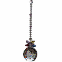 1 Chandelier Glass Crystals Lamp Prisms Parts Hanging Feng Shui Pendants 40mm