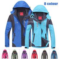 New Men women Outdoors Sportswear Softshell radiation proof Jacket Hoodies Waterproof Windproof Coat Hooded anorak Free shipping