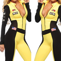 Promotion Sexy Cosplay American Style Sexy Women Disfraces Bodycon Sport Costumes Women 2014 Hot Sale Cosplay 10