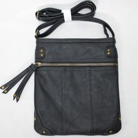 Free shipping C&A Clockhouse  Europe fashion style PU handbag message bag shoulder bags with Tassels brown black for men women