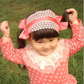 Peruca pneu faixa do cabelo do bebê da menina estrondo cabelo liso fita do cabelo do bebê fabricante atacado(China (Mainland))