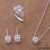 AS045 925 sterling silver jewelry set, fashion jewelry set  /fsaaojha hemapvta