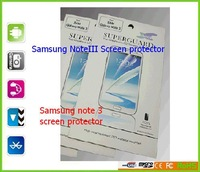Super sale screen protector for note3 MOQ 200PCS Factory wholesale