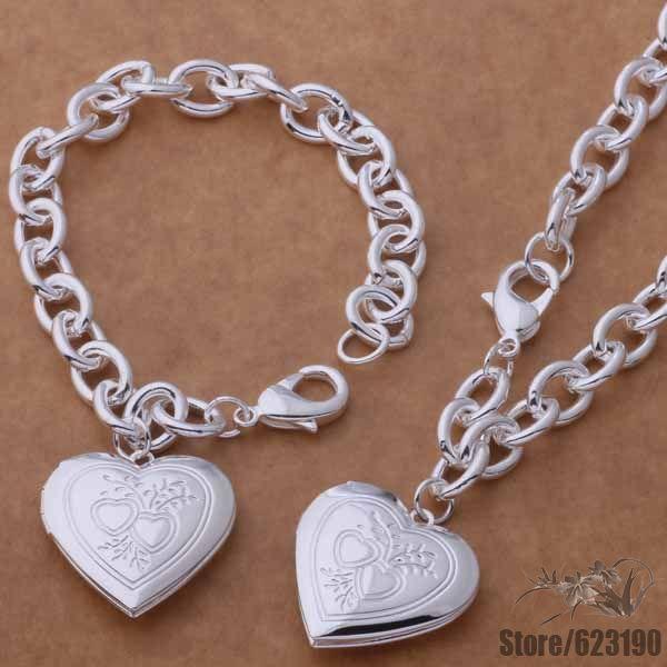 As387 925 чистое серебро ювелирные изделия комплект, Ювелирные изделия комплект / gfeaowla hrqaqixa