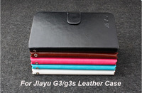 Jiayu G3 Leather Case,High Quality PU Leather protective cover case for Jiayu G3 G3s Phone, in Stock  with jiayu logo