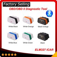 2014 Fast Shipping Original! Vgate bluetooth OBD2 Scanner Diagnostic Auto Tool elm327 icar 2 A+ quality