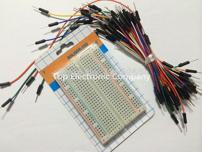 Электронные компоненты Board 400 arduino + 65 Breadboard msp430 development board microchip msp430f149 program breadboard