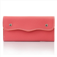 Free shipping hot selling women long design wallets pu leather wallets coin purse card holder 10 colors drp ship