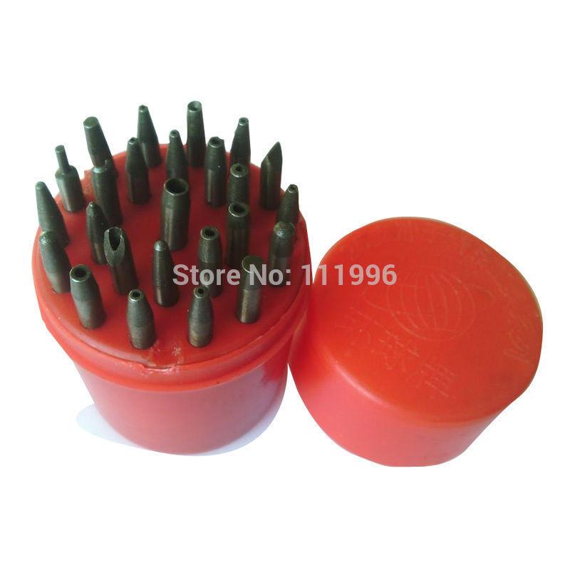 25 Pcs/set Punch Tool Kits