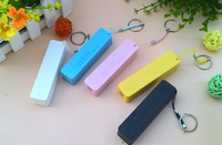 Hot 2600mAh USB External Battery Power Bank for iPhone Samsung HTC Emergency charger +Micro usb cable 500pcs/lot