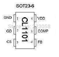 Free shipping CL1101 new original CHIPLINK SOT23-6.