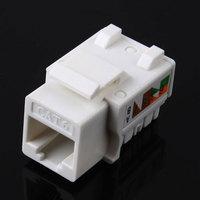 1 pcs CAT6 RJ45 110 Punch Down Keystone Network Ethernet Jack#53089