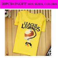 Legends shirt children legends clothing dress 1pcs selling