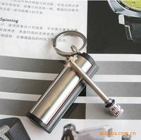 5pcs New emergency match box 10000 times Stainless steel outdoor survival magnesium rod lighter flint stone fire starter Z028