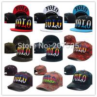 Fashion Summer YOLO Hats For Men, Cheap  Hip Hop Snapback Hats Cotton Men Baseball Cap Wholesale Free Shipping