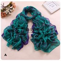 Free Shipping Lady Gorgeous Bandana Scarf Shawl Wrap scarves Cotton Bonten Multi-colors Voile