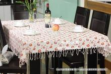 wholesale orange table linens