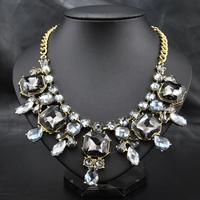 New 2014 Wholesale Perfume Women Colars Accessories fashion Rhinestone Luxury Choker Statement Necklace