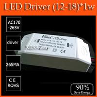 1pcs transformer (12-18)*1w 12w 13w 13w 14w 15w 16w 17w 18w High Power LED Driver For LED Light for LED Ceiling Lamp down light