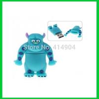 5pcs/lot Free shipping monster university 4gb/8gb16gb/32gb bulk cheap usb flash pendrive,USB 2.0 memory flash stick thumbdrive