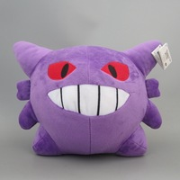Pokemon Plush Toy Gengar Plushie Soft Figure Plushes 15*18cm 50pcs/lot Hot Sale by EMS