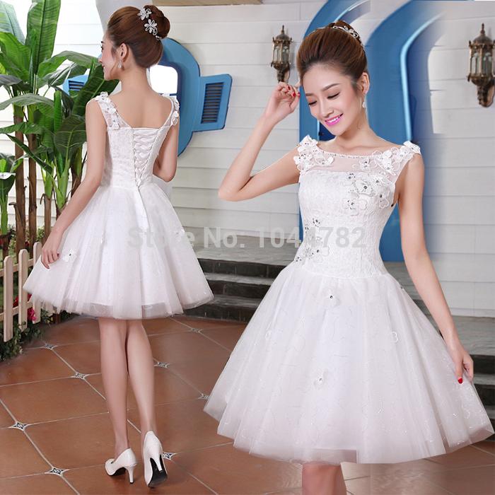 Short Puffy Wedding Dresses - Amore Wedding Dresses