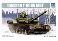 Trumpeter model 05566 1/35 Russian T-80BV MBT plastic model kit
