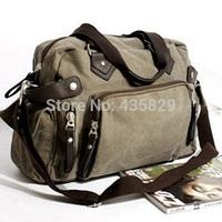 Hot sale:2014 Canvas shoulder bag casual messenger handbag  travel bag