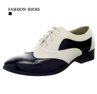 NEW 2014 Plus Size Leather Men's Shoes Business Formal Brogue Pointed Toe Oxfords men's Wedding Dress Shoes mens sneakers RM-292
