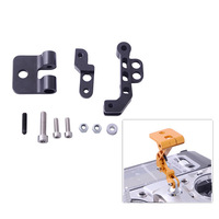 CNC Aluminum Alloy FPV Monitor Mounting Bracket for DJI in Black