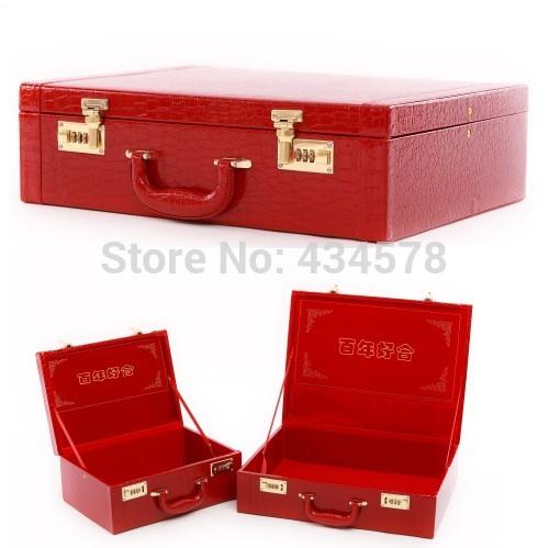 Red Vintage Suitcase Suitcase Vintage Bags Red