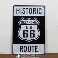 OKLAHOMA US 66 Tin Sign Metal Poster Wall Decor ART Painting BAR CLUB HOME Hanging