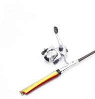 1M Mini Fish  Rod Portable  Rod   Ocean Beach Fishing Ocean Rock Fishin Gear