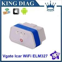 2014 Original Vgate WIFI OBD2 Scanner Diagnostic Auto Tool ,elm327 icar 2 quality +++